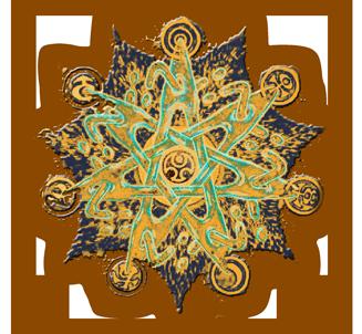Логотип Фестиваля Арт Лабиринт 2014
